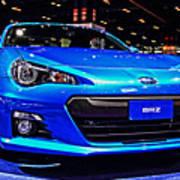 2015 Subaru Brz Art Print