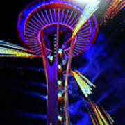 2016 At The Space Needle Art Print