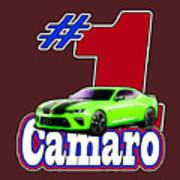 2016 Camaro Art Print