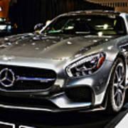 2016 Mercedes-amg Gts Art Print