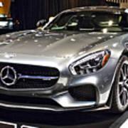 2016 Mercedes-amg Gts No 1 Art Print
