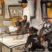 2016 Paints Institute Original Art Print