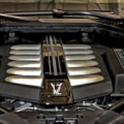 2016 Rolls Royce Wraith Engine Art Print