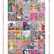 2017 Commemorative Breast Strokes Poster Art Print