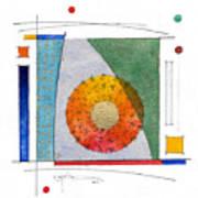 2017.08.30 Behind The Curtain Art Print