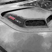 2018 Dodge Challenger 392 Hemi Scat Pack Shaker Rt 005 Art Print