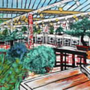 201804 Bonsai And Penjing Museum Washington Art Print