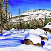 #202 Donner Summit Art Print