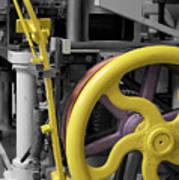 20th Century Mechanical Machinery Sc Art Print