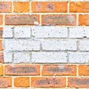 Brick Wall Art Print