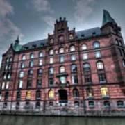 Hamburg Germany Art Print