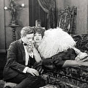 Silent Film Still: Couples Art Print