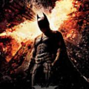The Dark Knight Rises 2012  Art Print