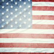 American Flag 37 Art Print
