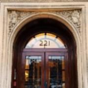 221 Columbus Ave. Boston Art Print