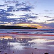 Daybreak Seascape Art Print