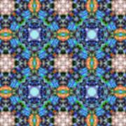 Arabesque 105 Art Print