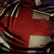 British Flag 5 Art Print