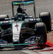 Formula 1 Monza Art Print