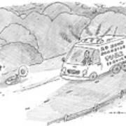 24 Hour Roadside Tuba Service Art Print