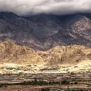 Landscape Of Ladakh Jammu And Kashmir India Art Print