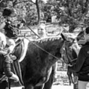 Manito Equestrian Center Benefit Horse Show Art Print