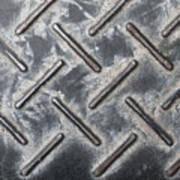 Metal Background Art Print