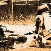 Saga Star Wars Poster Art Print