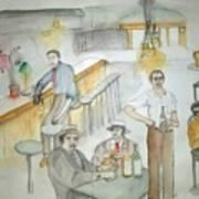 Italians  Ellis Island  Prohibition Album Art Print