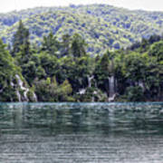 Plitvice Lakes National Park Croatia Art Print