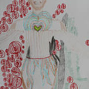 St Michael The Archangel Art Print