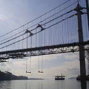 The New Tacoma Narrows Bridge Art Print
