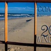 26 Windows Coastal Art Print