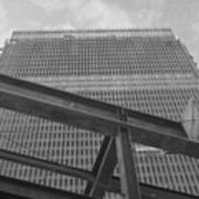 World Trade Center Under Construction 1967 Art Print