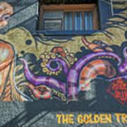 2635- Golden Triangle Art Print