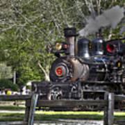 267 - Roaring Camp Train No 7 Hdr Art Print