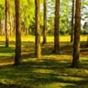 Nature Art Landscape Art Print