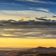Allegheny Mountain Sunrise Art Print