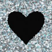 Love Heart Valentine Shape Art Print