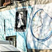 Mural Painting In Saludecio Art Print