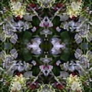 Wormhole Mandala Art Print