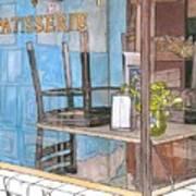 29  Croissant D'or Patisserie Art Print