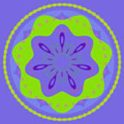 Mandala Ornament Art Print