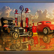 2at Pumps Art Print