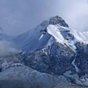 2d07513 Fresh Snow On Mt. Mccaleb Art Print