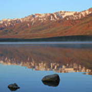 2da5931 Steens Mountain Sunrise Reflect Art Print