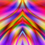 2x1 Abstract 337 Art Print