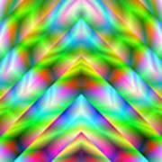 2x1 Abstract 341 Art Print