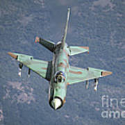 A Bulgarian Air Force Mig-21bis Armed Art Print