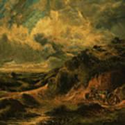 A Heath Painting Painted Originally Art Print